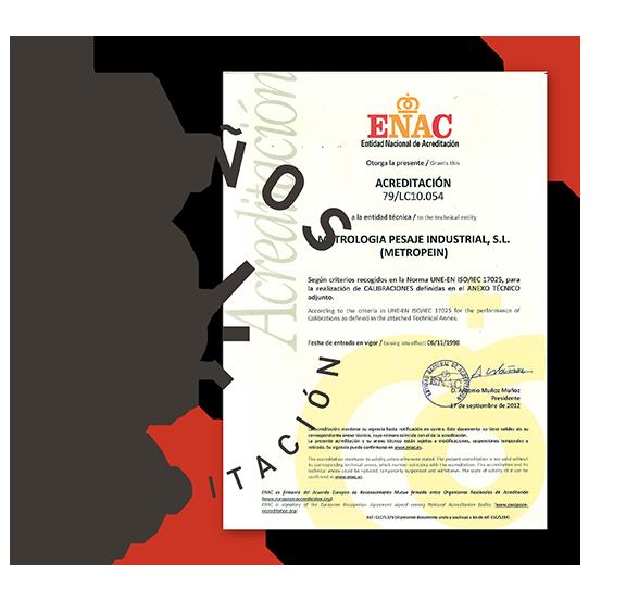 Metropein-laboratorio-calibracion-acreditado-acreditacion-enac-20 años