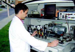 calibración móvil para talleres de automovil